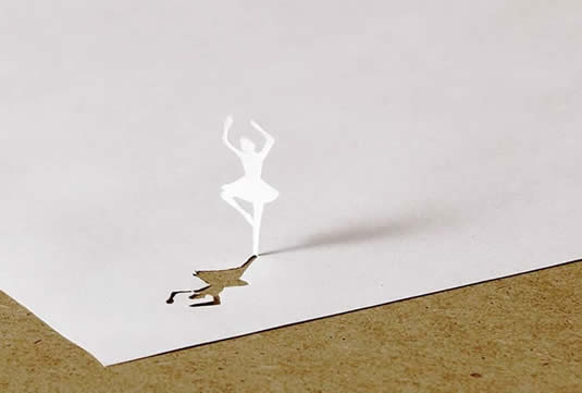 Ballet Dancer Paper