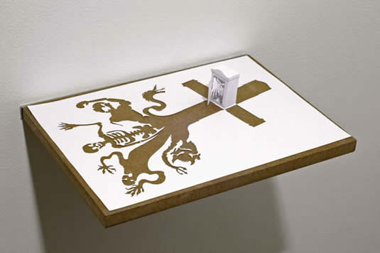 Skeleton Cross Spooky Tomb