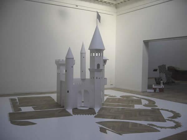 Paper Cutout Castle